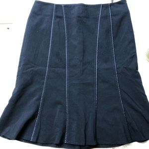 The Limited Skirts - The Limited stretch black tulip pleated skirt 6